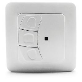 Interruptor de superficie sin cable para motorización de persianas y toldos